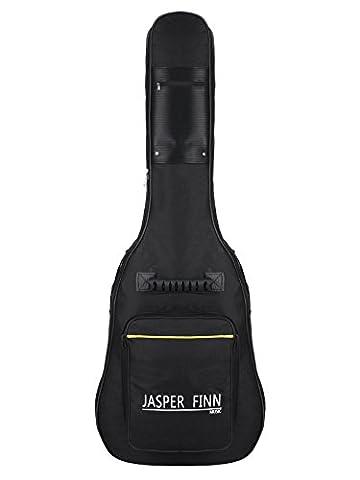 Ardisle Taille complète de protection rembourrée Noir Guitare acoustique classique Dos Sac Housse de transport