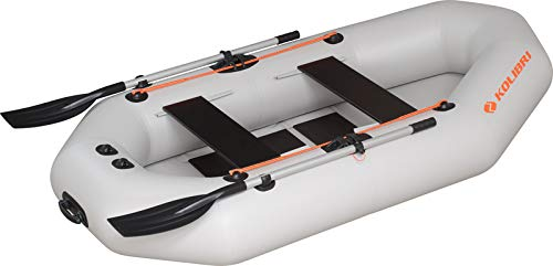 kolibri K-250-TS Schlauchboot hellgrau + Lattenrost