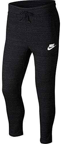 Sportliche Fleece Knit Pants (Nike M NSW AV15 PANT KNIT schwarz - XL)