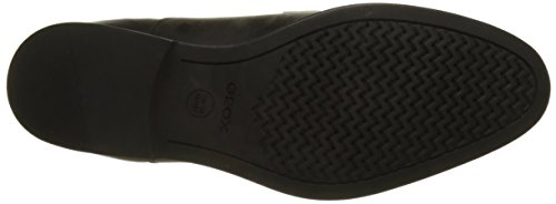 Geox U Hampstead A, Scarpe Stringate Derby Uomo Nero (Black)
