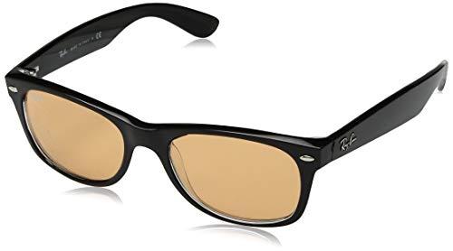 Ray-Ban Herren 63983L Sonnenbrille, Schwarz (Black/Transparente), 51