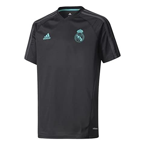 Adidas Performance T-shirt Real Madrid Training Noir Maillot Club Enfant Football