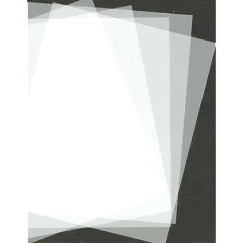 A4 Mylar stencil sheets (4 x A4) 125 micron. by Mylar