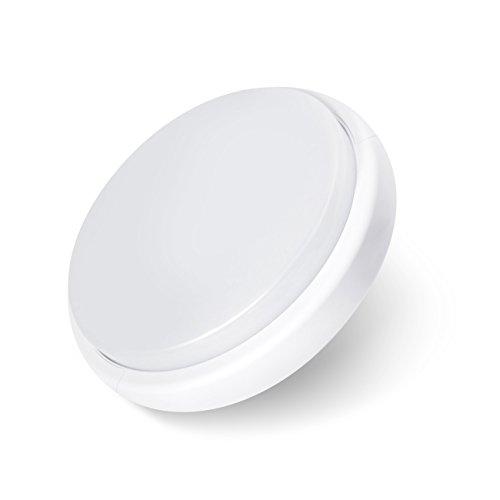 LVWIT Lámpara de Techo LED - 18W, Plafón LED de 1400 lúmenes, Color blanco neutro 4000K, No regulable - oficina salón.