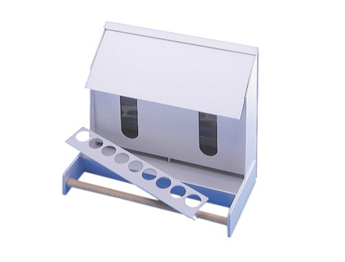 Nobby Futterautomat-Kunststoff Kanarien 25 cm - 2 Fächer, 1 Stück