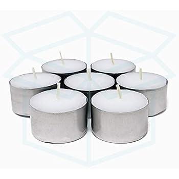 Tea Light 8 Hours Burning Duration Catering Tea Light White//White Bolsius