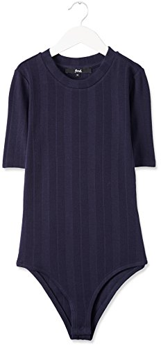 FIND Body Jersey Côtelé Femme Bleu (Navy)