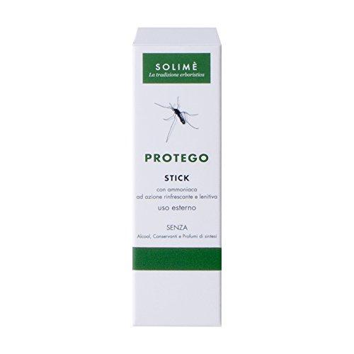 protego stick per la protezione dagli insetti con oli essenziali naturali ed estratti vegetali 10 ml - prodotto erboristico made in italy