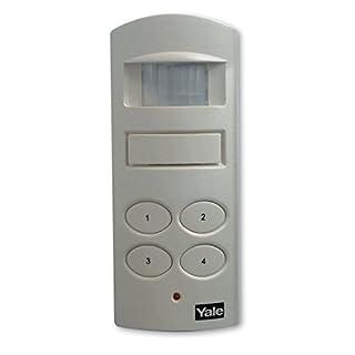 Yale SAA5015 Wireless Shed and Garage Alarm, White