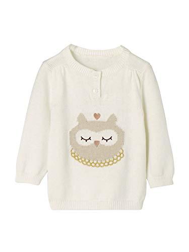 Vertbaudet Pullover Baby Mädchen wollweiß 92