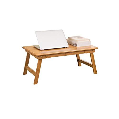 Table Pliante - Table Pliante Portable Table Pliante pour Ordinateur Portable en Bambou Bonne qualité (Taille : 70x40x30cm)