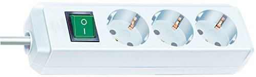 Brennenstuhl Eco-Line Steckdosenleiste mit Schalter 3-fach 3m - 2