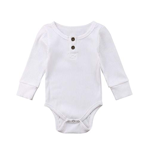 Overall Baby Sommer Toddler Long Sleeve Solid Romper Bodysuit Casual Clothes Red Long Sleeve Teddy