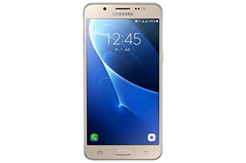 galaxy s5 duos Samsung Galaxy J5 DUOS (2016) Smartphone (13,2 cm (5,2 Zoll) Touch-Display, 16 GB Speicher, Android 6.0) gold ohne Samsung Flip Wallet