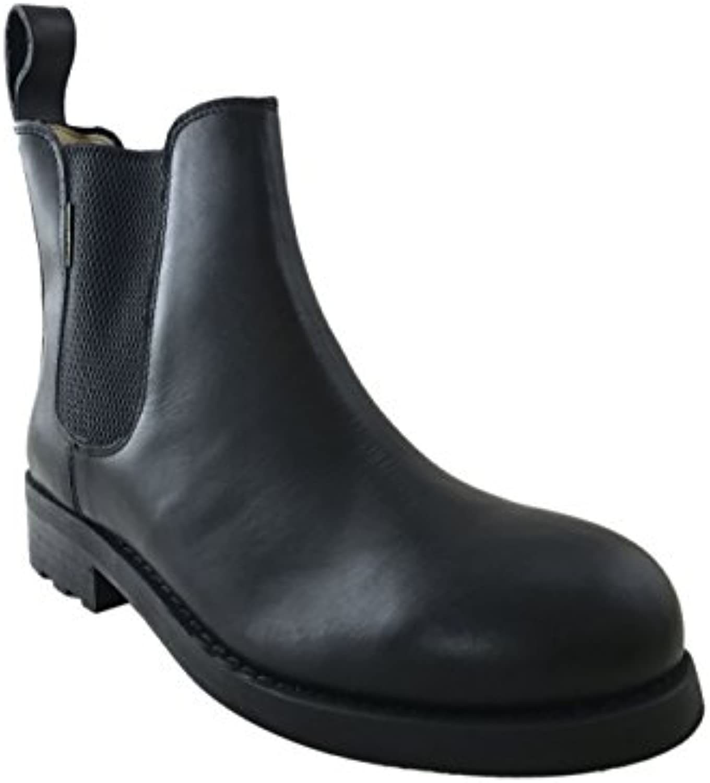 Palladium Vintage Black Leather Chelsea Boots model John