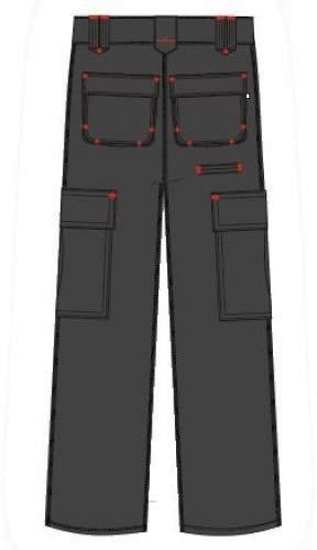 Lee Cooper Men's Cargo Trouser - schwarz -30W/29S - 4