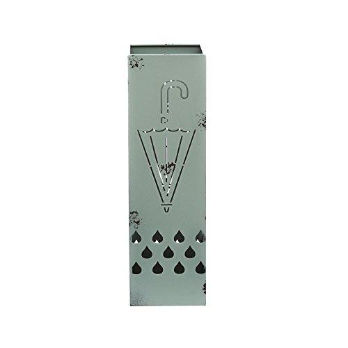 59cbea6f20 Portaombrelli in metallo, da 15,5X52X15,5 cm