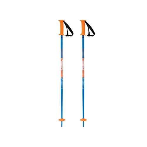 K2 Skis Decoy Skistock, Blue/Orange, 95 cm