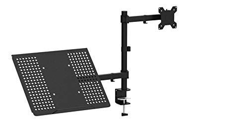 """1home Laptop Notebook Tablet Tisch Ständer Monitor Arm Arme Halterung Tischhalterung Halter völlig verstellbar schwenkbar 13\""""-27\"""""""