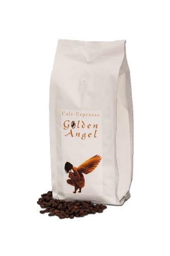 """Espresso / Cafe - Kaffeebohnen \""""Golden Angel\"""" 100 {5ae58ba3d34c379d216976500793fc6bedff33b222fe3ef4acc039d5c77b23fd} Arabica (Ganze Bohnen,1000 g) - Spitzenkaffee - Säurearm Und Bekömmlich, Schonend Und Frisch Geröstet"""