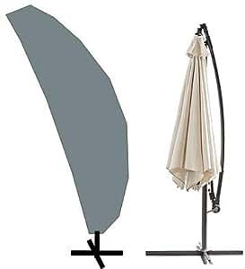 hbcollection housse pour parasol d port avec pied 240cm. Black Bedroom Furniture Sets. Home Design Ideas