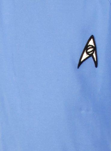 Star Trek Minikleid - Original Serie - 100% Baumwolle - Uhura - super deluxe (Small, blau) (Star Trek Uhura Kostüme Deluxe)