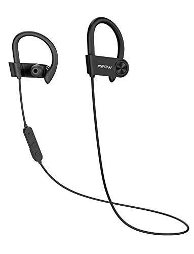 ort-Kopfhörer mit 16 Stunden Laufzeit, Bluetooth 5.0/ AptX HD-Technologie/ IPX7 Wasserdicht, Sportkopfhörer Joggen/Laufen mit MEMS-Mikrofon für iPhone Android ()