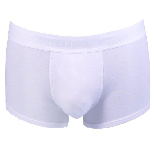 Jockey Herren Short Trunk Boxershort 2er Pack Weiß