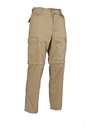 Pantalon de Jungle Plein Air, Amovible Fermeture éclair - XXL