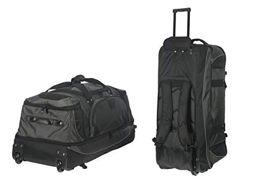 Reisetasche mit Rollen und Rucksackfunktion Trolley Tasche Rucksack Reise inkl. Einkaufstasche