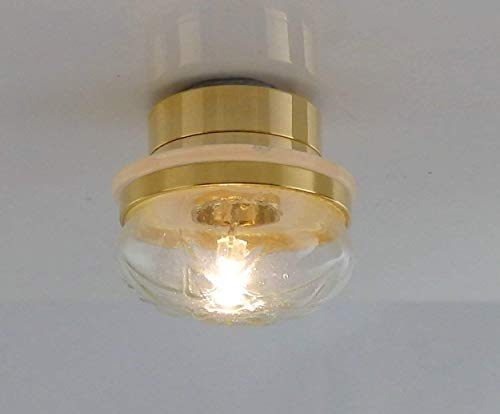 Melody Jane Puppenhaus Miniatur-Beleuchtung LED Batterie Licht 1:12 Maßstab Rund Decken
