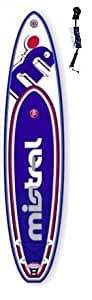 Mistral Allround Adventure 11'5 Sondermodell 40 Jahre SUP Board inkl. SUPwave.de Coil-Leash aufblasbar iSUP Stand up Paddle Board