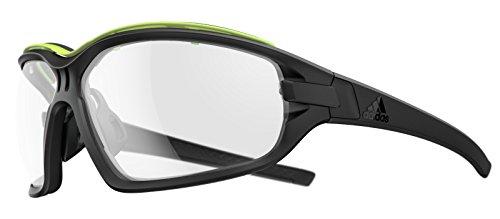 Adidas Brille evil eye evo pro ad09 - 9300 black matt glow VARIO (Large)