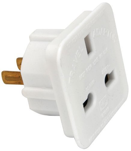 ShaniTech pack of 2 UK to US Travel Adaptor suitable for USA, Canada, Mexico, Thailand - Refer to Description for country list