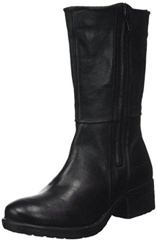 Rekia Kickers Noir Boots Schwarz Damen Desert SzwOz