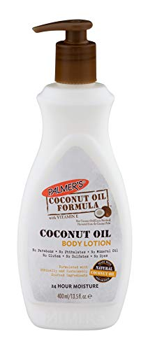 Palmer's 7069753 COF Feuchtigkeitsspendende Körperlotion mit Kokosöl, 400 ml, 1 Stück -