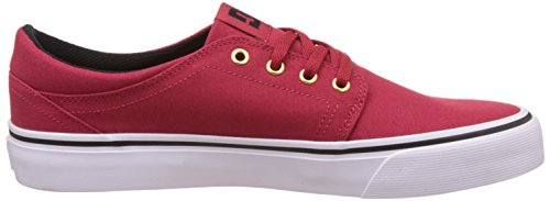 DC Shoes Trase Tx, Baskets mode homme Rouge - Red/Gold