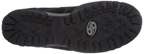 Dockers by Gerli 36HT001, Low-Top Sneaker uomo Nero (Schwarz 100)