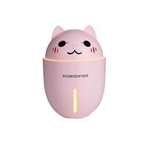 ZY Humidificador Pet Multi-Función Tres-En-Uno Humidificador Noche Luz Pequeña Mini Ventilador USB Humidificador
