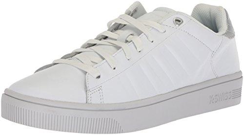K-Swiss Damen Court Frasco Sneaker, Weiß (White/Silver/Barely Blue), 42 EU
