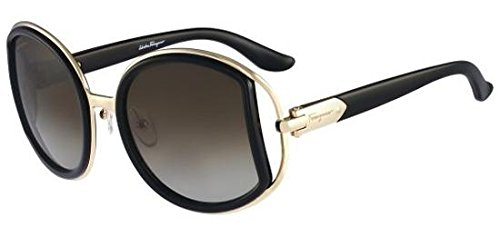 3922b8ac32 Salvatore Ferragamo SF719S-001 Ladies Black SF719S Sunglasses - Buy ...