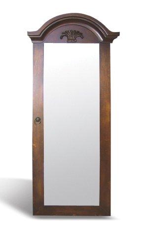 Espejo-de-pared-marrn-Estilo-antiguobarrocoLouis-XVXVI-hecho-a-mano