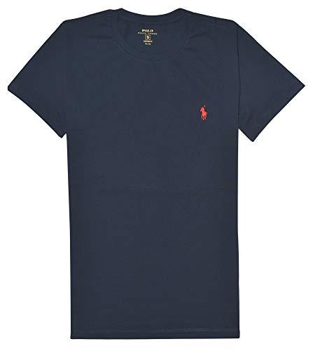 Ralph Lauren Polo Basic T-Shirt Navy/red Größe XL - Custom Fit T-shirt