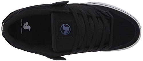 DVS Militia CT Shoes Black/Grey/Blue Nubuck