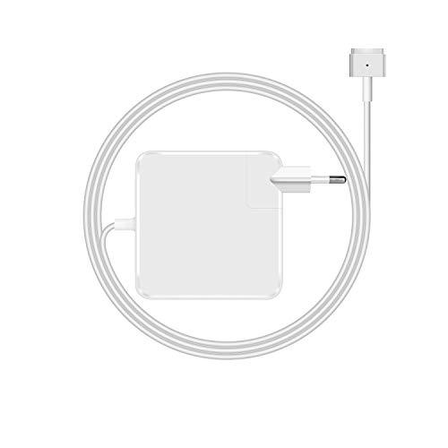 Yeahgo 85w AC Netzteil kompatibel mit Macbook Pro ladekabel 85w, Ersatz-Mac 13/15 Zoll von 2012 2013 2014 2015 und Retina Display Ladegerät für Magsafe 2 85w mit 1,8m Ladekabel und EU-Stecker
