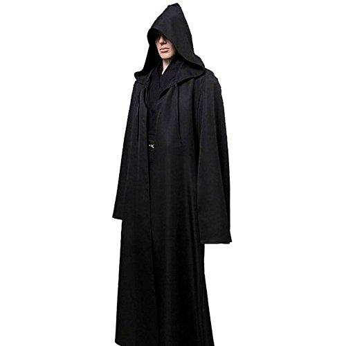 Preisvergleich Produktbild ROPALIA Halloween Kapuzenumhang Cape Robe für Erwachsene