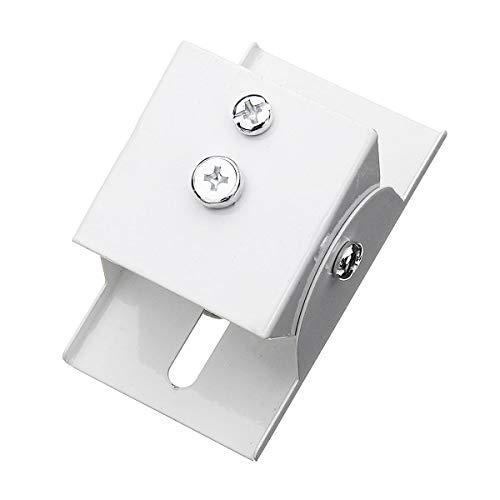 Especificaciones: Peso: 85 g. Material: acero. Tamaño: 7,8 x 4,5 x 4 cm. Ángulo de giro: 180°.    El paquete incluye: 1 soporte de montaje solar.