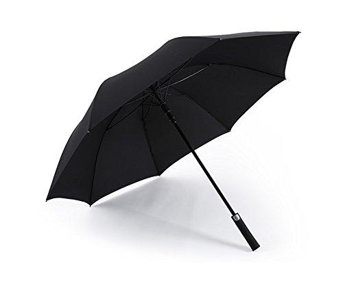 HCJYS JCRNJSB® Regenschirm, große Größe Männer Commerce langen Griff winddicht regendicht Einfach zu falten Winddicht regendicht Regenschi