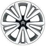 Citroen - Kit De 4 Enjoliveurs Nuclear 16 Noir Cornelie Citroen