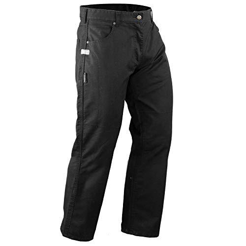 A-Pro Textilhose Motorrad Wasserdicht Kevlar Protektoren CE Genehmigt Schwarz 38